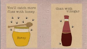Flies and honey